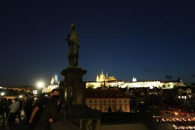 2018.04-05・GW中欧9日間の旅【1】~プラハのカレル橋近くのホテルから夜の散歩へ~