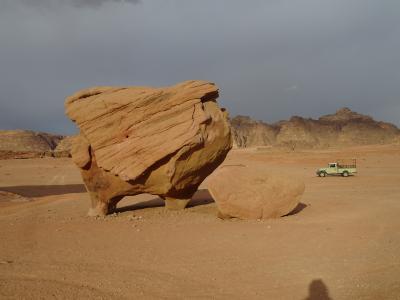 4年振りのヨルダン・1年振りのイスラエル ⑥ Wadi RumでFull Day Zeep Tour後半
