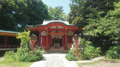 身近な神社に参拝(自由が丘熊野神社)