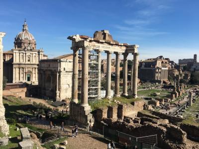 たった2日でローマを楽しむ②~街中遺跡・スペインエリアでショッピング~