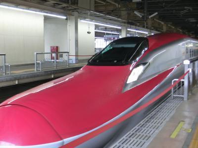 「大人の休日倶楽部パス」で4日間日帰り旅 * 1日目・秋田新幹線『こまち』に乗って来ました♪