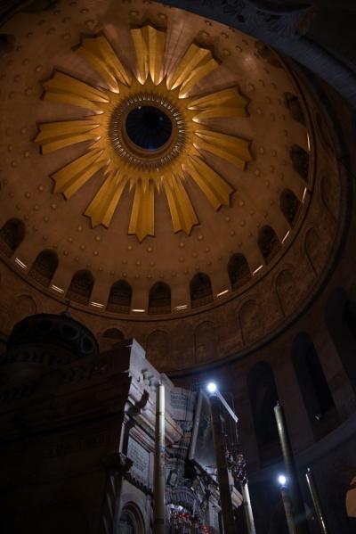 イスラエル&ヨルダン4 聖墳墓教会