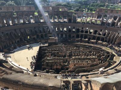 たった2日でローマを楽しむ③~コロッセオの地下&展望~