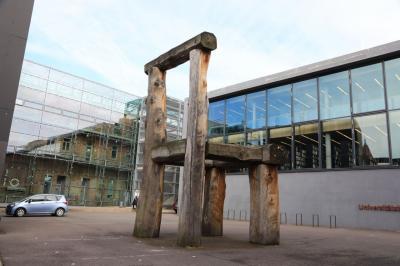 ドイツ鉄道の旅 バウハウスを訪ねて・・・ワイマールの大学図書館とバウハウス博物館