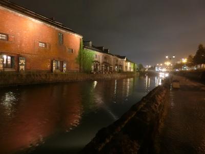 札幌・小樽一人旅 4泊5日 (1日目) 小樽へ到着、街歩き