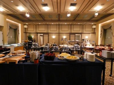 12.GW前半のエクシブ伊豆2泊 エクシブ伊豆コンベンションホール フリーポートのバイキングの夕食その1