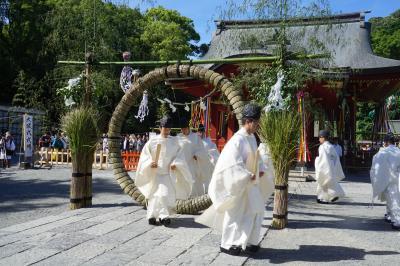 鎌倉散策パートⅠ 梅雨明け早々の北鎌倉・鎌倉一日街歩き~あじさいのまだ残る北鎌倉の名刹を巡って、鶴岡八幡宮の大祓へ。半年の穢れを払う儀式は茅の輪くぐりで終了。その後は、気になるグルメもちょい確認です~