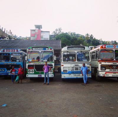 【スリランカ】二ゴンボからキャンディまでバス移動だけになってしまった日の記録