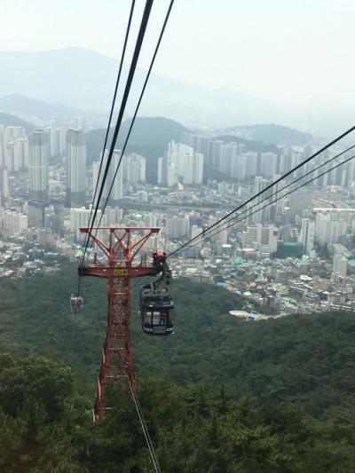 ひとり釜山と、ロープウェー