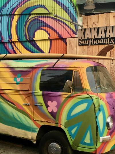 2018 懲りずにハワイへ 2日目「カイルア+ノースショア観光 ファーマーズマーケット&B級グルメ付き 1日がっつりツアー」に参加。