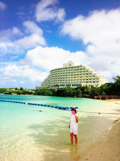 2017年7月  台風7号発生の沖縄へ!ANAインターコンチネンタル万座ビーチリゾートで過ごすまったり旅♪Day2~ホテルビーチでシュノーケル~「アクアベル」でランチ~「雲海」でディナー