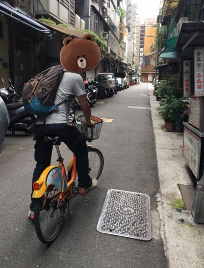 HISのツアーで行った2018年6月の台湾