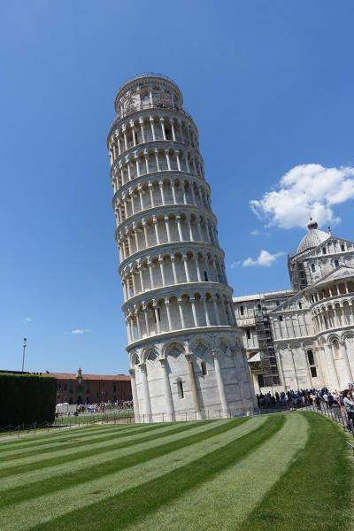 フィレンツェ、ローマの旅 2 ピサ