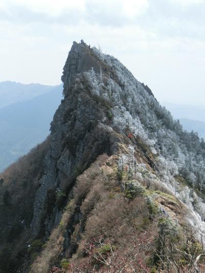 日本百名山★石鎚山修行登山