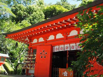 荏原天神社 日本最古天神の一つ。菅原道真公を祀る。鎌倉幕府の鬼門の守護神