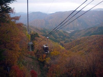 雲海と紅葉が見たくて阿智村へ (もみじ湖~奈良井宿~昼神温泉 ホテル吉弥~ヘブンスそのはら)