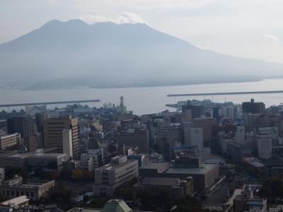 2013年 九州旅行 ⑥ 鹿児島市内観光 城山に登って桜島を見る