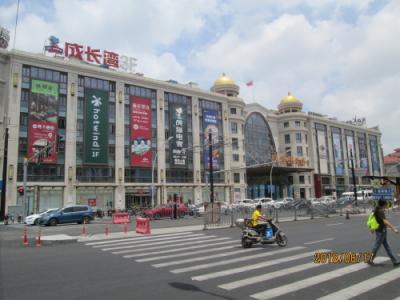 上海の松江新理想広場・巨大モール・開業2015年