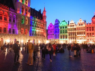2018年イーペル猫まつり+@の旅・・9日目タリスでブリュッセルへ。ブリュッセルは大盛り上がり♪