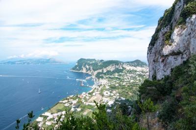 南イタリア中心に世界遺産を巡る旅 その5 ナポリ~カプリ島