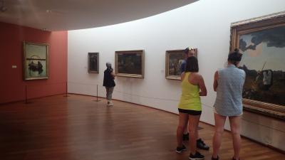 サンモリッツのセガンティーニ美術館で遭遇した無礼な老人