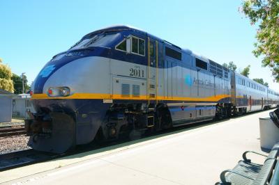 2)乗換え、また乗換え、、、鉄ちゃん以外にはおすすめできない鉄道利用ヨセミテ観光ツアー