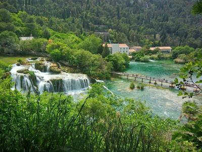 実は見どころ満載のクロアチア 2018GW:05/02 クルカ国立公園と世界遺産の町シベニク