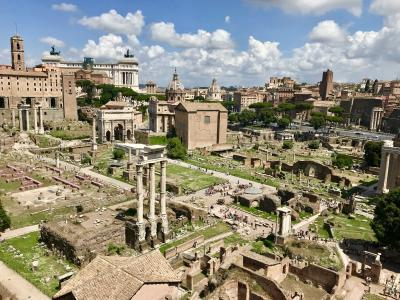 2018 イタリア家族旅行 - Day 2 - まずはローマ3泊4日