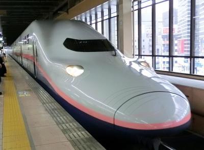 「大人の休日倶楽部パス」で4日間日帰り旅 * 2日目・上越新幹線『Maxとき』に乗って来ました♪