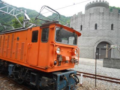 黒部渓谷トロッコ電車