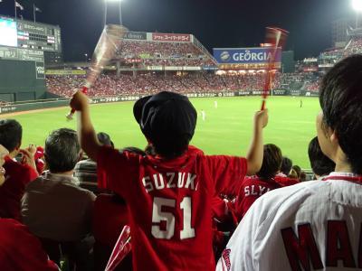 【マジック1】阪九フェリーと山陽新幹線で見に行く広島カープの優勝(ならず)