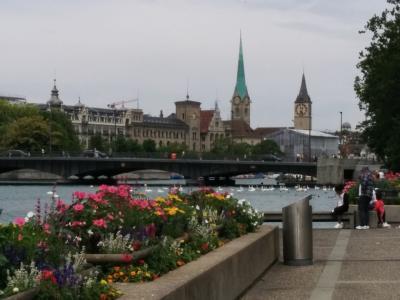 LaLaLa自由に楽しむシニア一人旅 スイス ドイツ ベニス (チューリッヒ)
