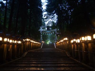 ついに大台! 10回目の奈良は記録的な大雨と重なった2泊3日の旅となり・・・① 生駒編・長屋王のお墓参りと暗峠ハイキング