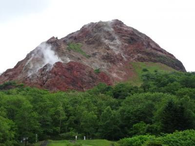 昭和新山から支笏湖丸駒温泉