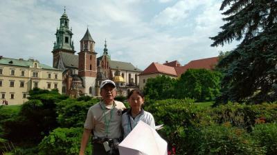 チェコとポーランド旅行Ⅴ-クラクフのヴァヴェル城、バルバカン、チョコレート午後ワルシャワ(キュウリ夫人、ショパン)へ