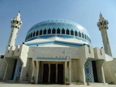 4年振りのヨルダン・1年振りのイスラエル ⑭ King Abdulah Mosque と Abu Darwish Mosque