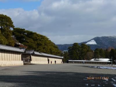京都御所 ('17年1月)