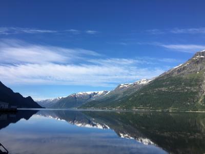 エミレーツビジネスで行くドバイとレンタカーで巡るノルウェーの旅11日間(その5 ハダンゲルフィヨルド)