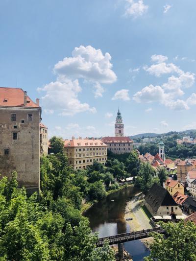 チェスキークルムロフへ:プラハから日帰り旅[2018年7月ヨーロッパ旅行記5]