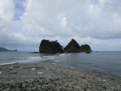 西伊豆堂ヶ島へ家族旅行
