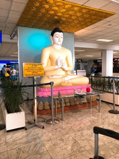 スリランカ7日間の旅・1・まずは移動、スリランカエアでニゴンボまで