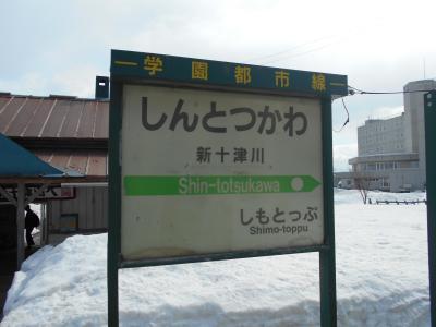 北海道&東日本パス+北海道内特急オプション券の旅 ⑦ 最終日 札沼線完乗