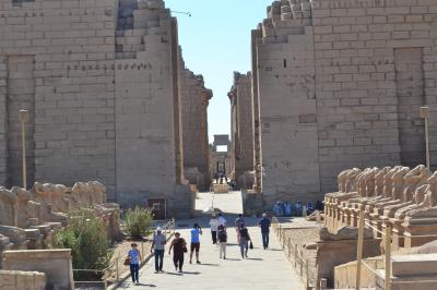 5つ星ナイル川クルーズで巡る感動のエジプト8日間:(その1)ルクソールへ