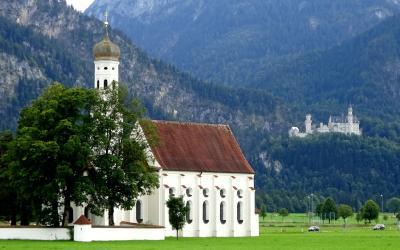 2017夏オーストリアとバイエルンの旅10:ホーエンシュヴァンガウとヴィース教会