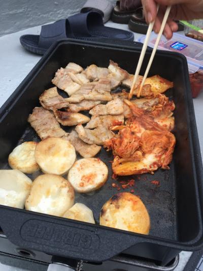 ひとり釜山と、ピクニック