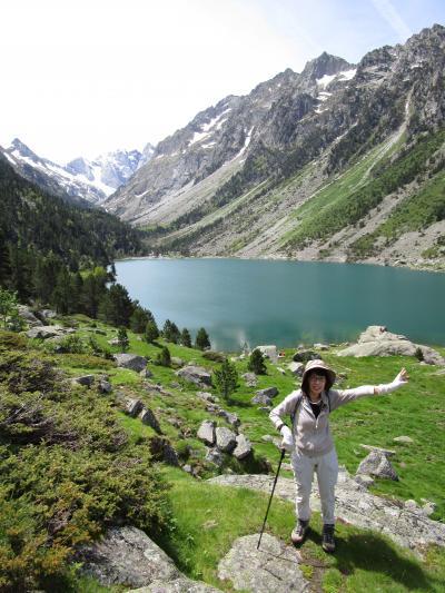 フランスピレネー+フランスロマネスクの旅①ゴーブ湖、ガヴァルニー圏谷