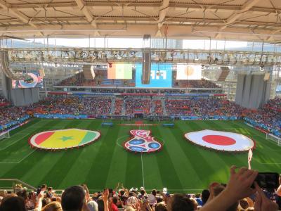 ロシアワールドカップを観戦に行ってみた(モスクワにちょこっと観光)