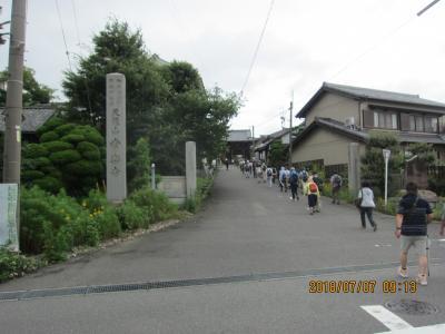 前後から大府までのハイキング (曹源寺から大倉公園つつじ祭りへ)