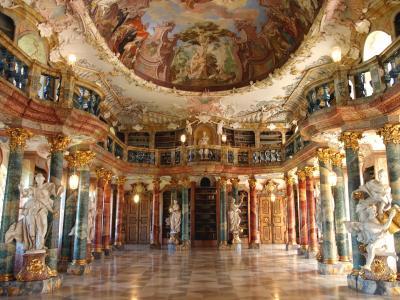 欲張り5ヶ国 美しい図書館と周辺のかわいい街めぐり 【2】 日帰りドイツと2つの図書館