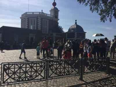 ロンドン自由時間の1日に、ウィンブルドン、クイーンメアリーガーデン、グリニッジ天文台に行きました